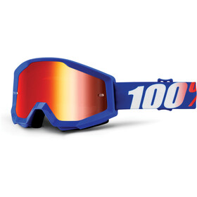 100% Strata Goggles nation-mirror
